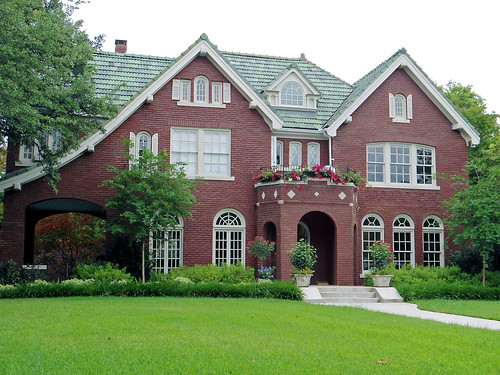 Brick House With Tile Roof Swiss Avenue Dallas House