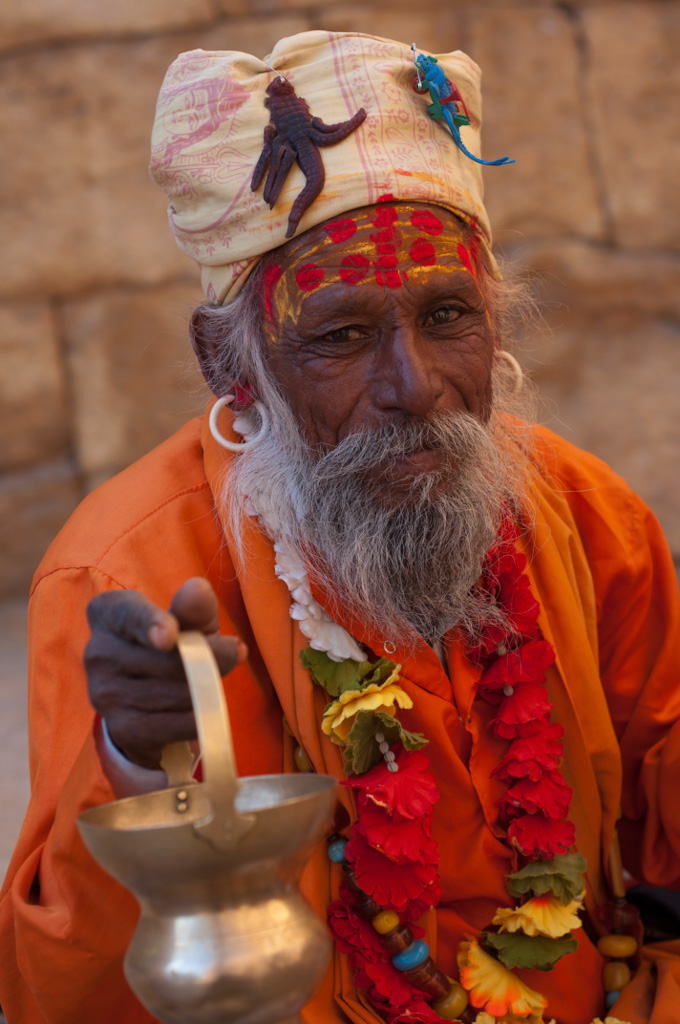 Dhongi baba (fake guru) | He had the costume--plastic ...