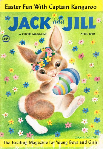 Toys Easter Magazine : Jack and jill april cover from quot