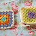 Crochet tutorial: joining granny squares 3