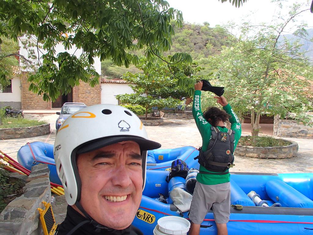 Primer día de rafting rio Chicamocha