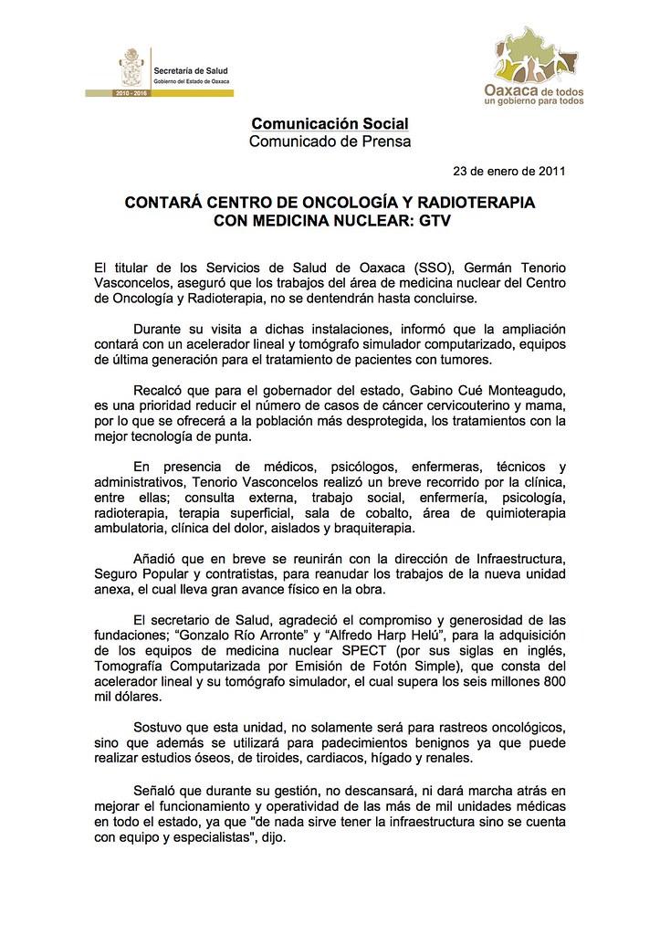 23/01/2011 CONTARÁ CENTRO DE ONCOLOGÍA Y RADIOTERAPIA CO…   Flickr