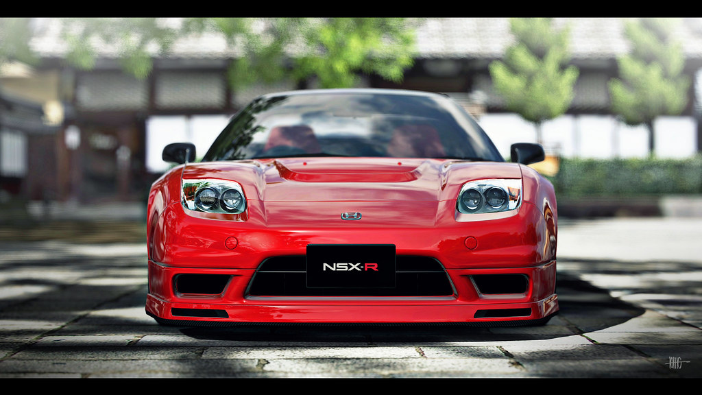 honda nsx type r new formula red thebogroll flickr. Black Bedroom Furniture Sets. Home Design Ideas