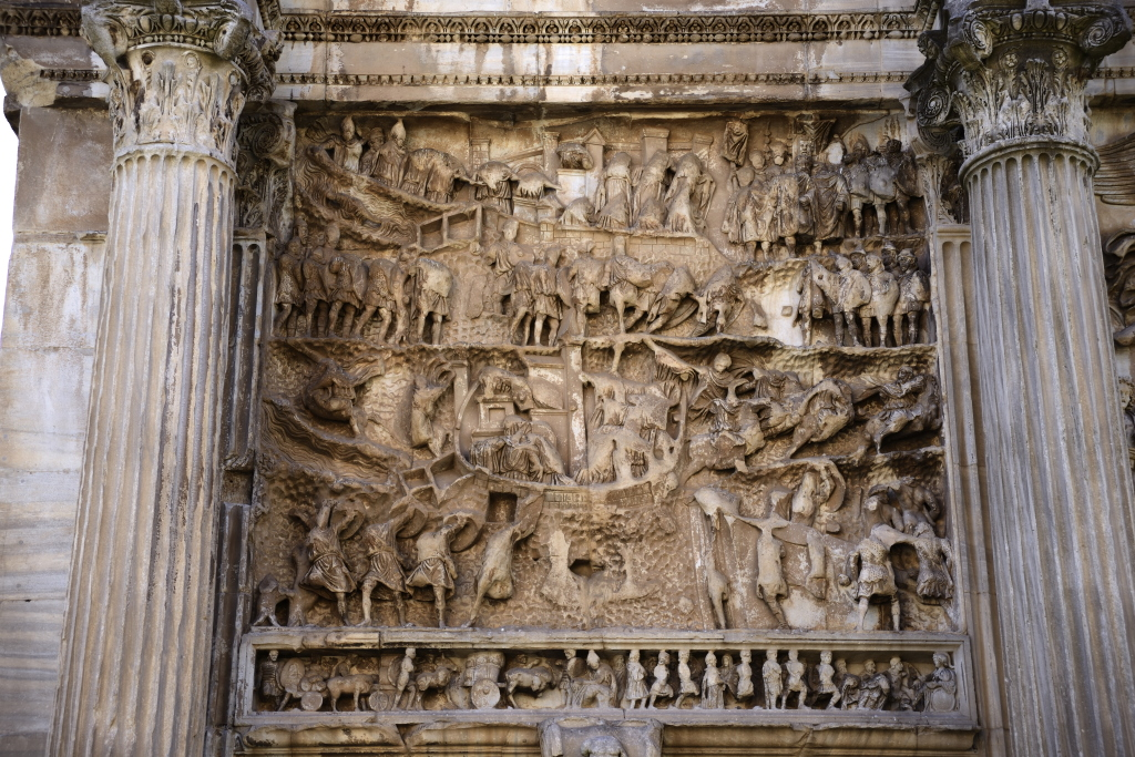 Carvings on Arch of Septimius Severus | c145425 | Flickr