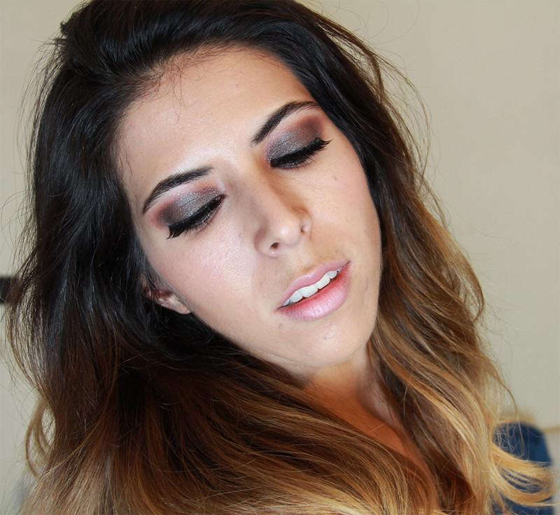 Maquillaje de Ojos Paso a Paso Ahumados Maquillaje Ojos Ahumados en Verde y Bronce