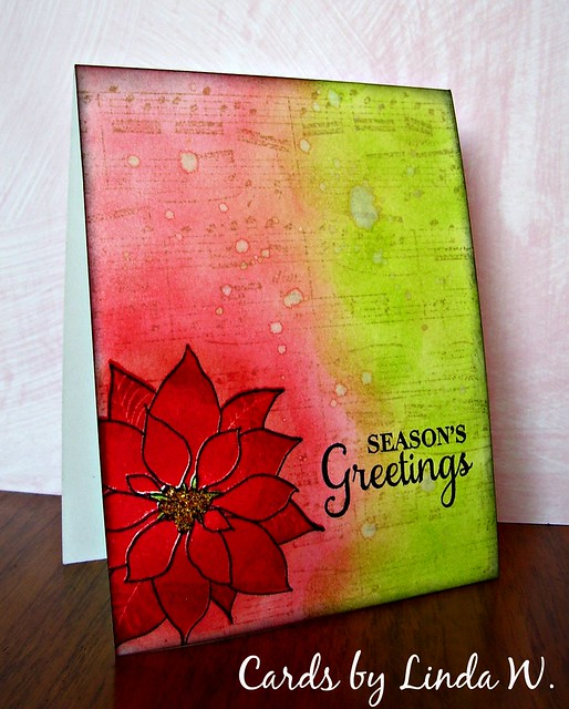 Seasons Greetings one layer