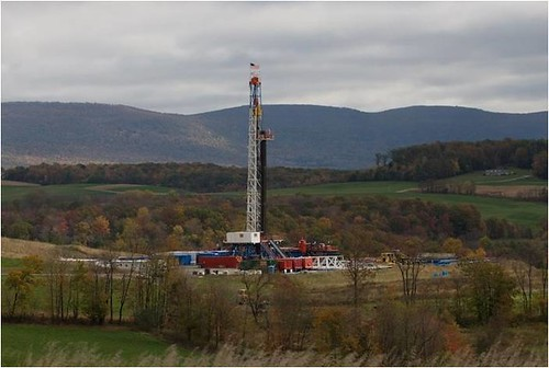 Gas rig | by Penn State Outreach and Online Education