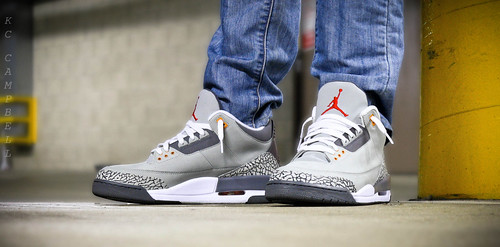 air jordan 3 ls cool grey  air jordan 3 cool grey 6622fb201