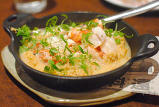 "buttery lobster with farro ""spezzato"" 