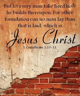 Image result for i corinthians 3:11
