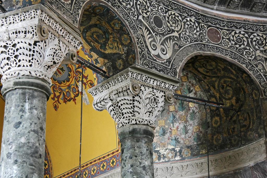 Hagia Sophia: Grand Interior   A multistich panoramic ...   Hagia Sophia Interior Columns