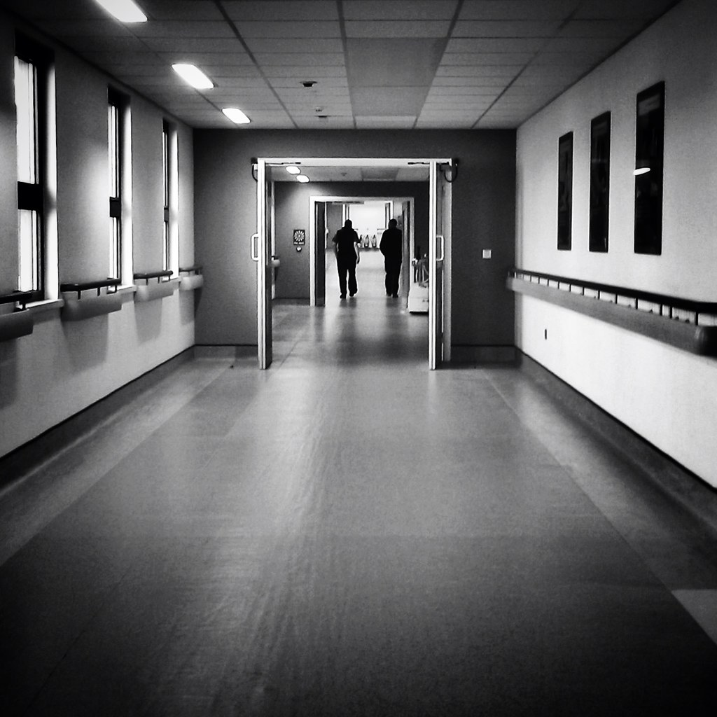 Hospital Corridor In Perspective Day 50 Of The 365