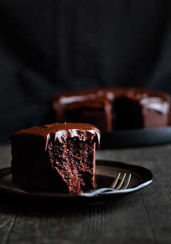 Citrus And Candy Chocolate Baileys Mud Cake