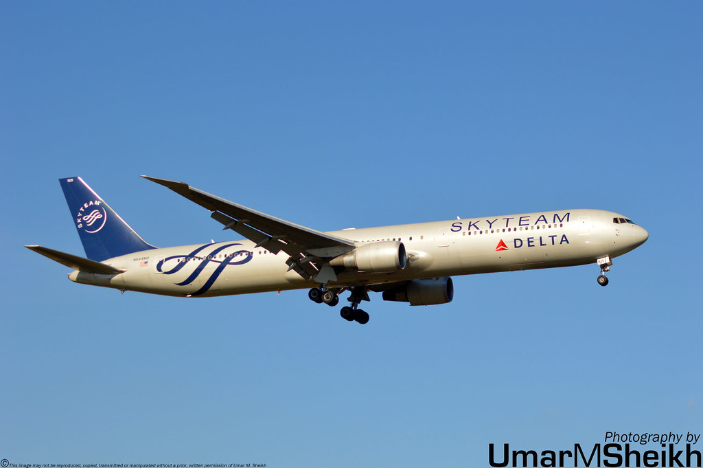 delta airlines skyteam livery boeing 767 432er n844m