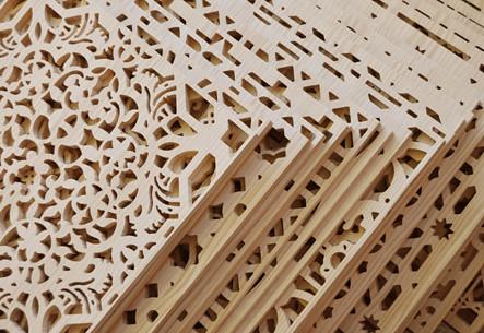 Celosia lattice treillage madera wood bois13 celosias for Celosia madera jardin