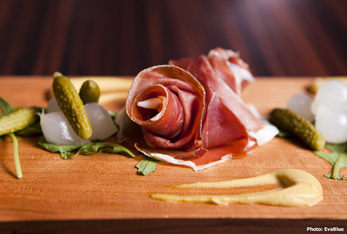 proscuitto rosette | by Eva Blue