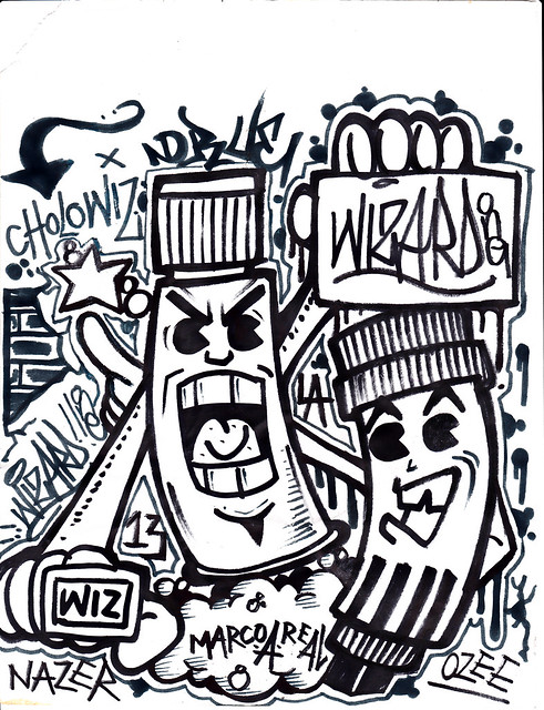graffiti characters 7 | Flickr - Photo Sharing!
