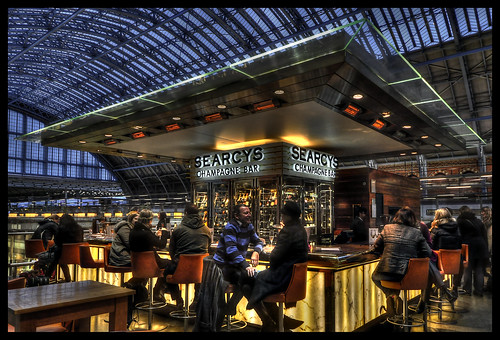 Searcy's Champagne Bar St Pancras | by RichardK2010