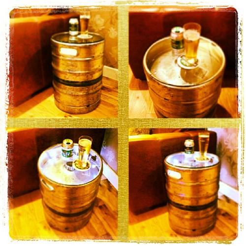 Upcycled Beer Keg Coffee Table By ReUpCycled. #beer #beerk