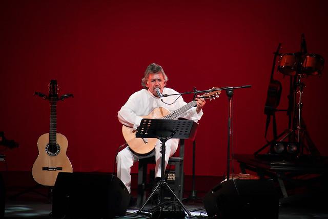 Ángel Parra en concierto