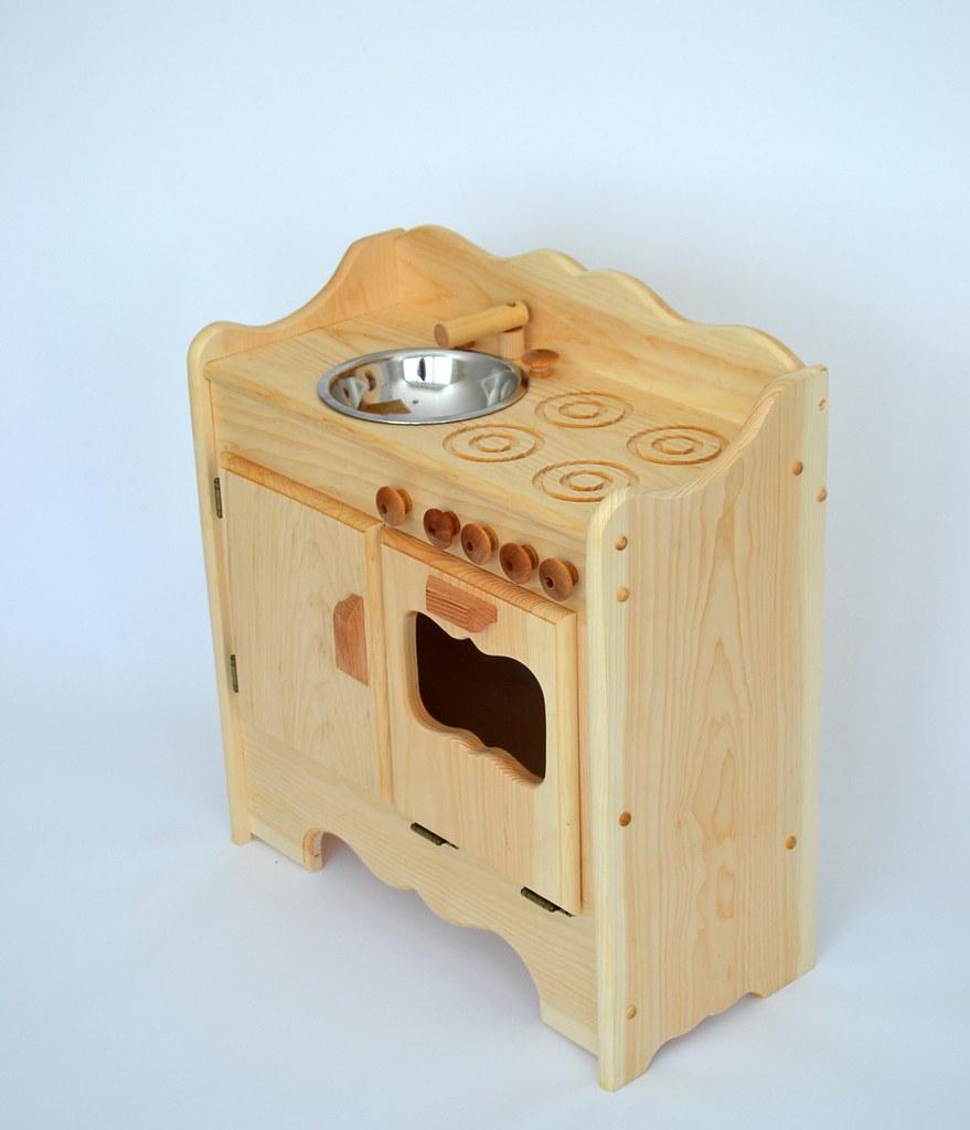 Pine Kitchen Sink Unit