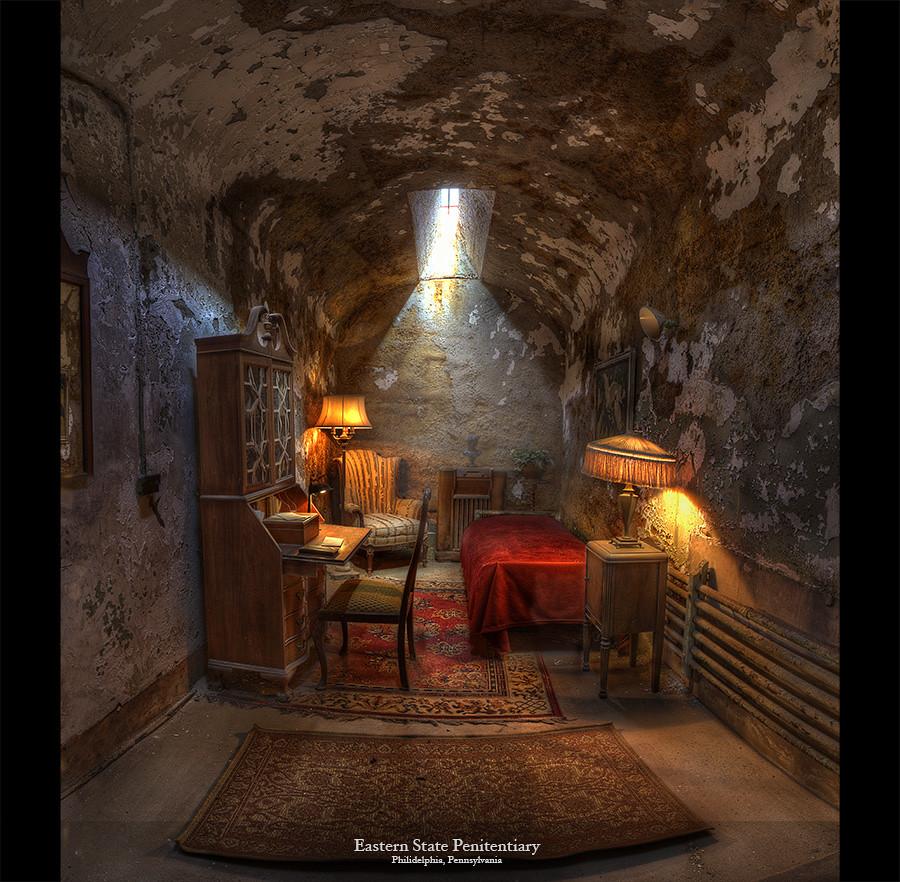 Al Capones Cell, Eastern State Penitentiary, Philadelphia