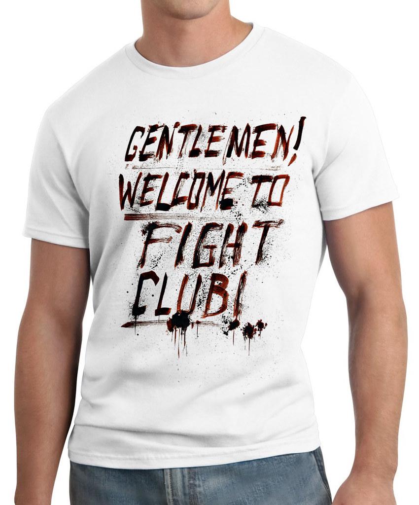 Atividade Com Frases De Filme Clube Da Luta Gentlemen W Flickr