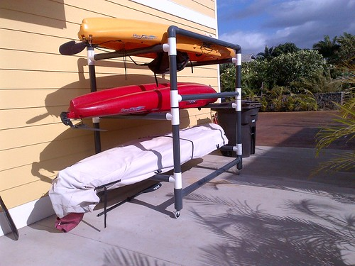 kayak rack | by mauidude