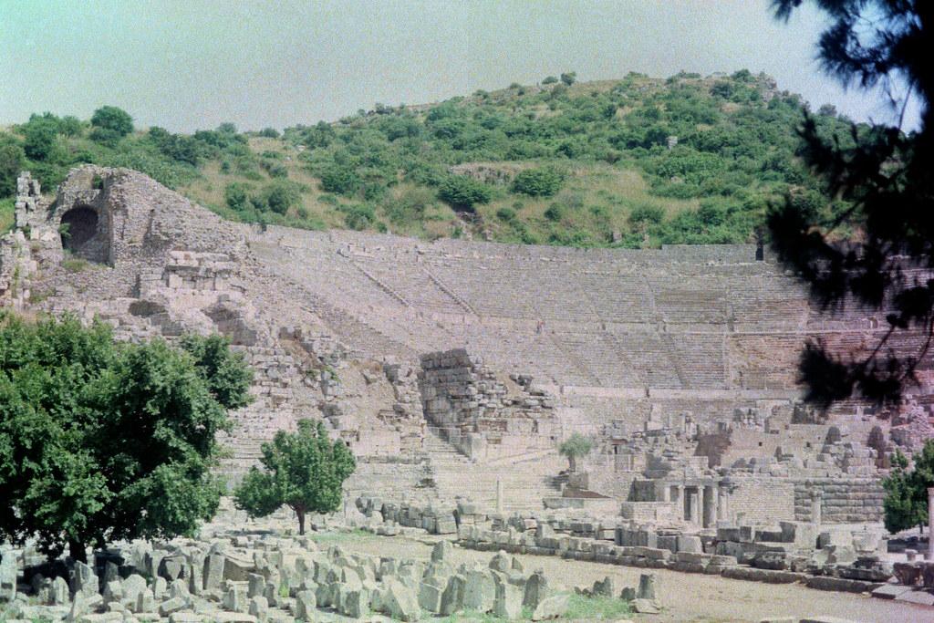 Efes Antik Tiyatro Sarah Flickr