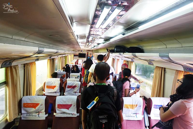 train to bandung cabin