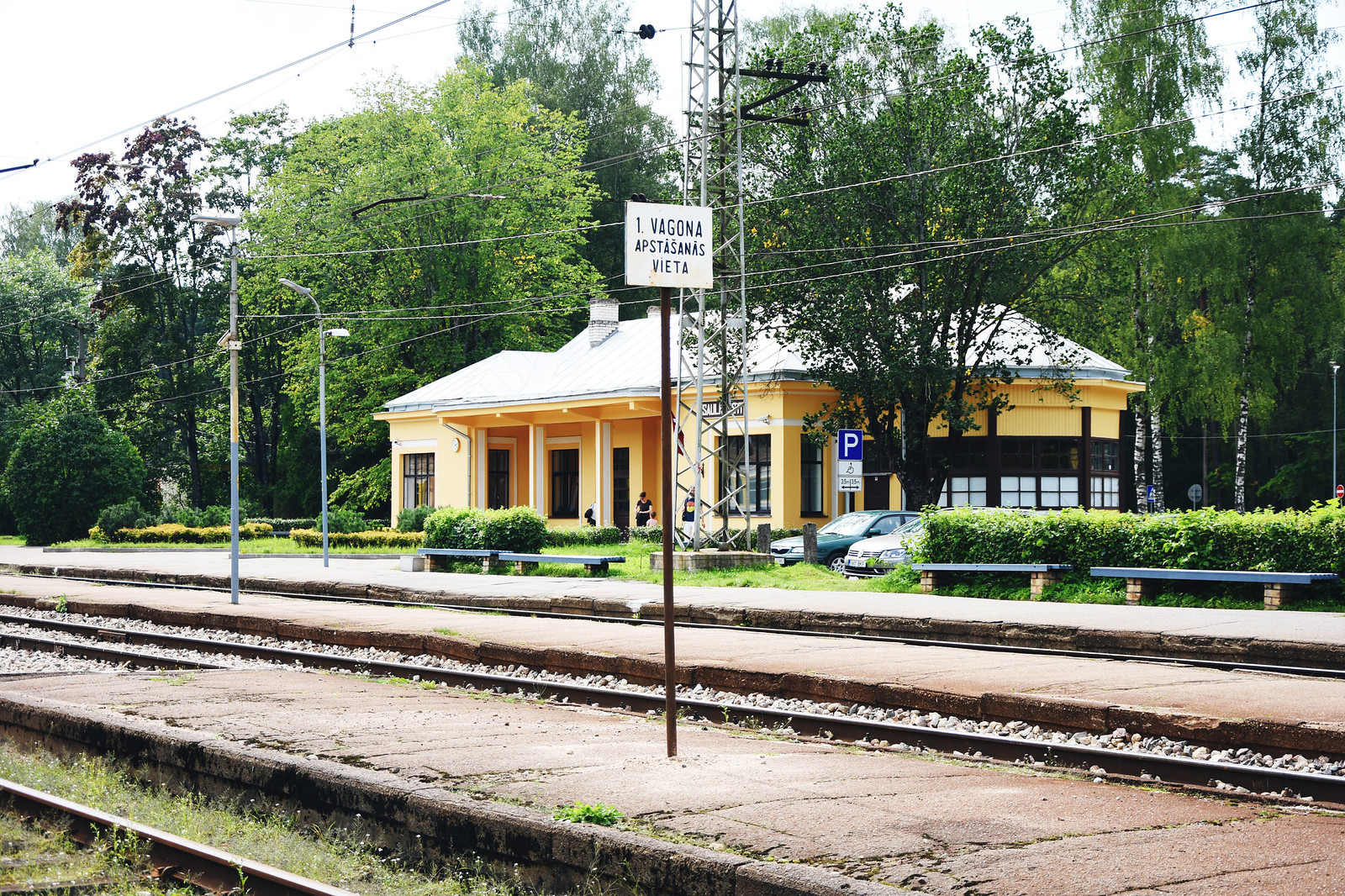 Saulkrasti train station