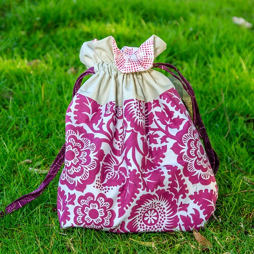 Lined Drawstring bag. Artist size. | by makinglifeprettier
