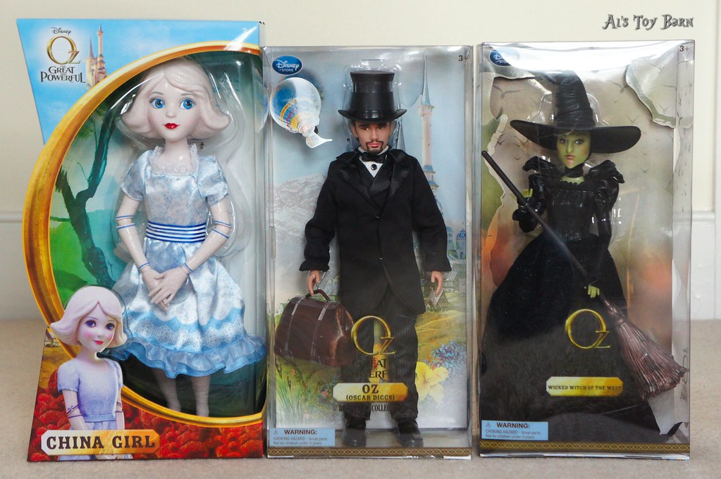 Oz The Great and Powerful dolls. | One of the cast members ... Oz The Great And Powerful Cast And Crew