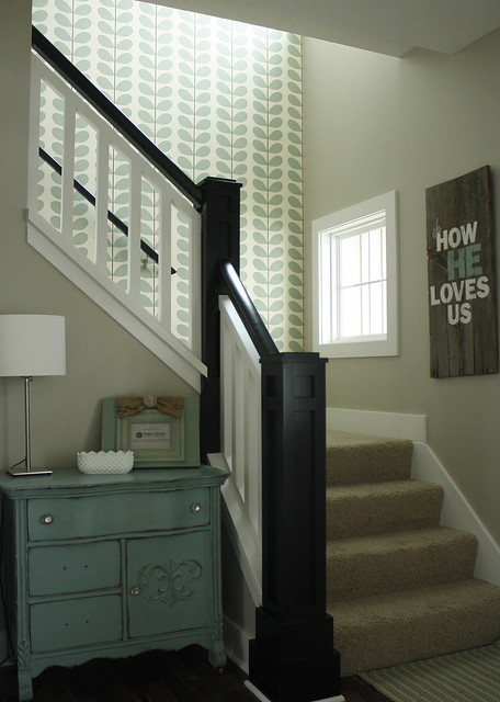 New Orla Kiely Wallpaper In Stairway Jessica Come Over