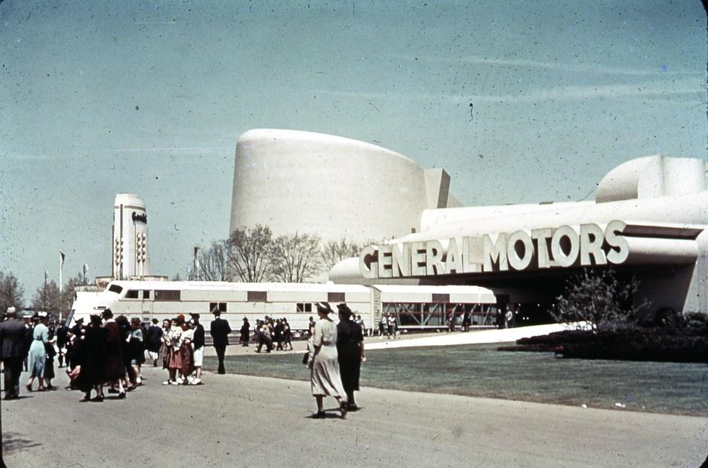 General Motors Building 1939 Ny World S Fair General