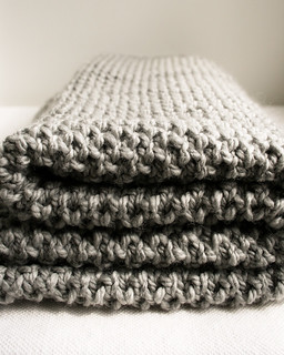 Fluffy Brioche Baby Blanket | by the purl bee