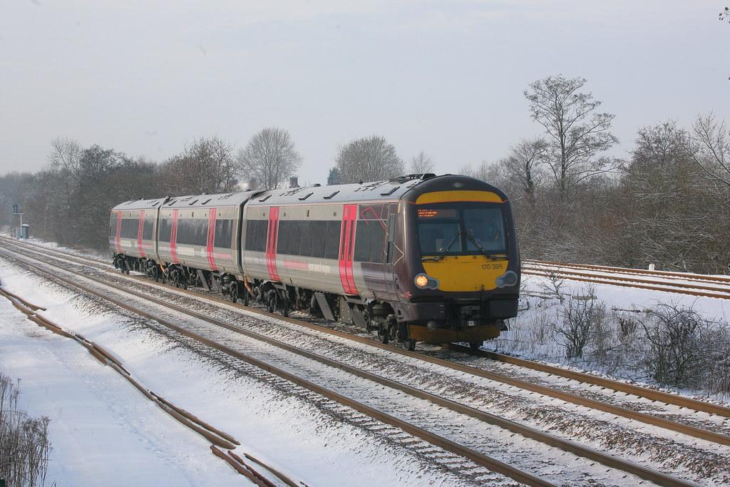 Cross Country Trains Br Bombardier Mtu 9 Class 170 3 Tu