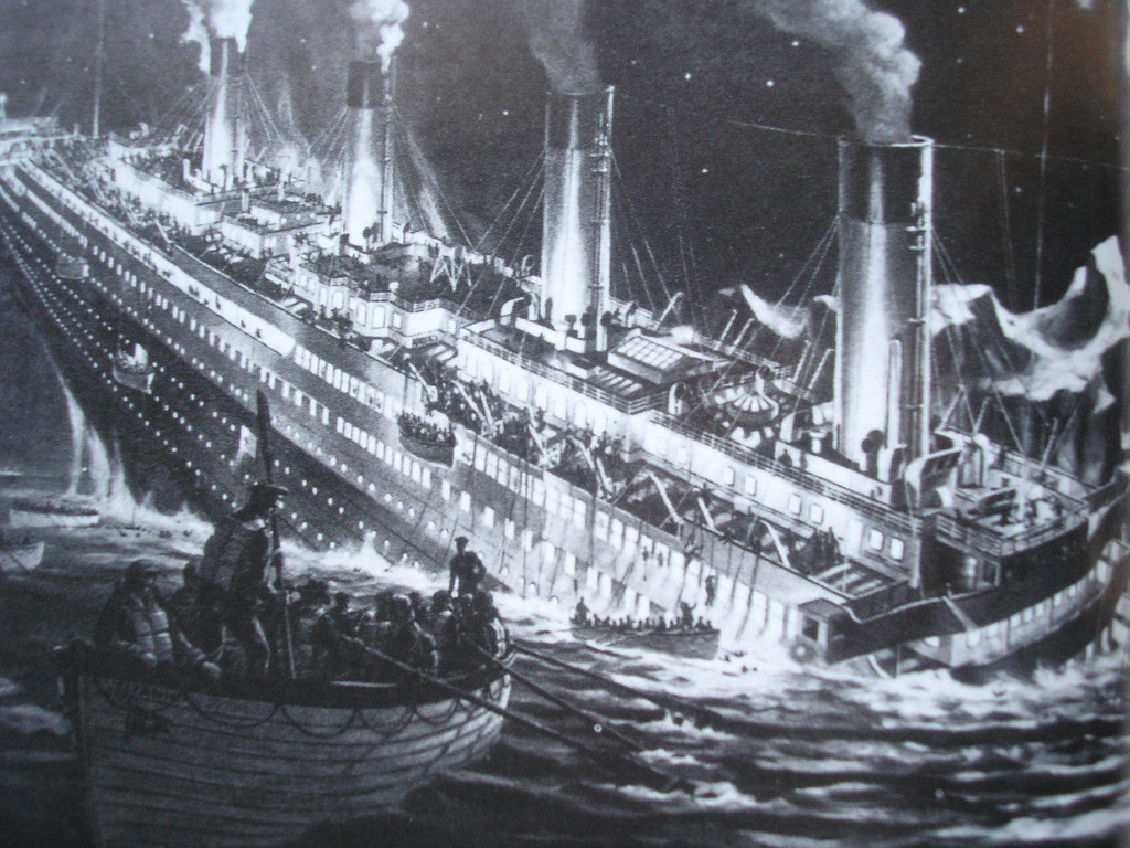The Titanic Sinking Jimmy Flickr