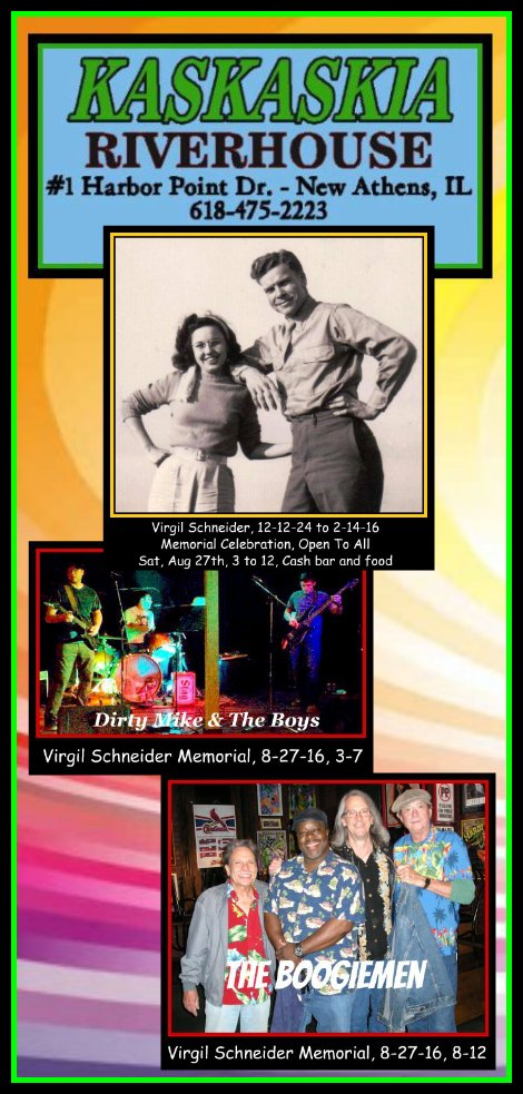 Virgil Schneider Memorial 8-27-16