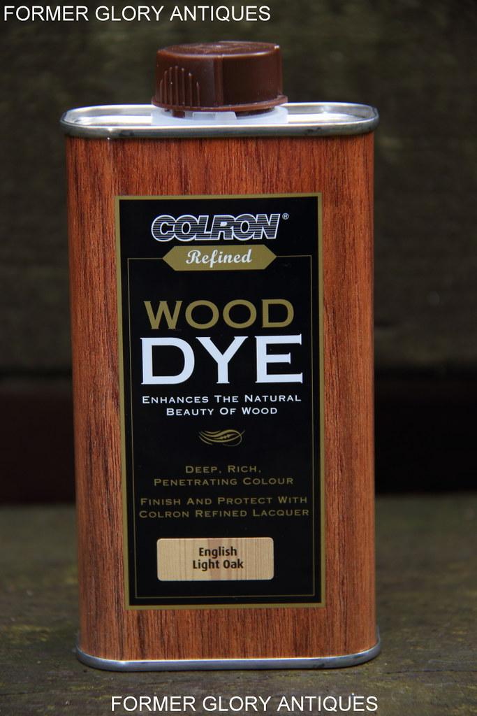 250ml Ronseal Colron Furniture Wood Dye Stain Light Oak