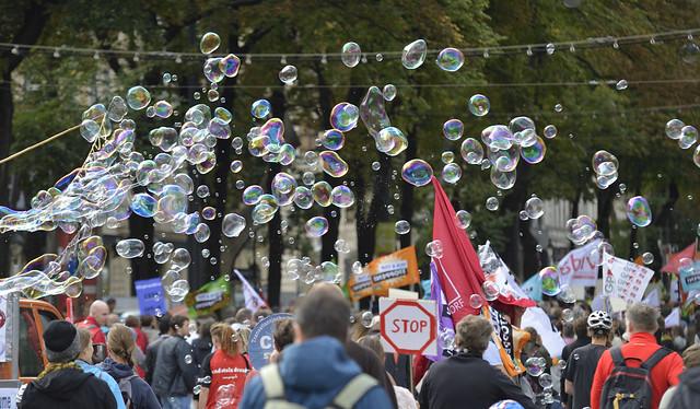 Demonstration gegen #TTIP und #CETA in #Wien