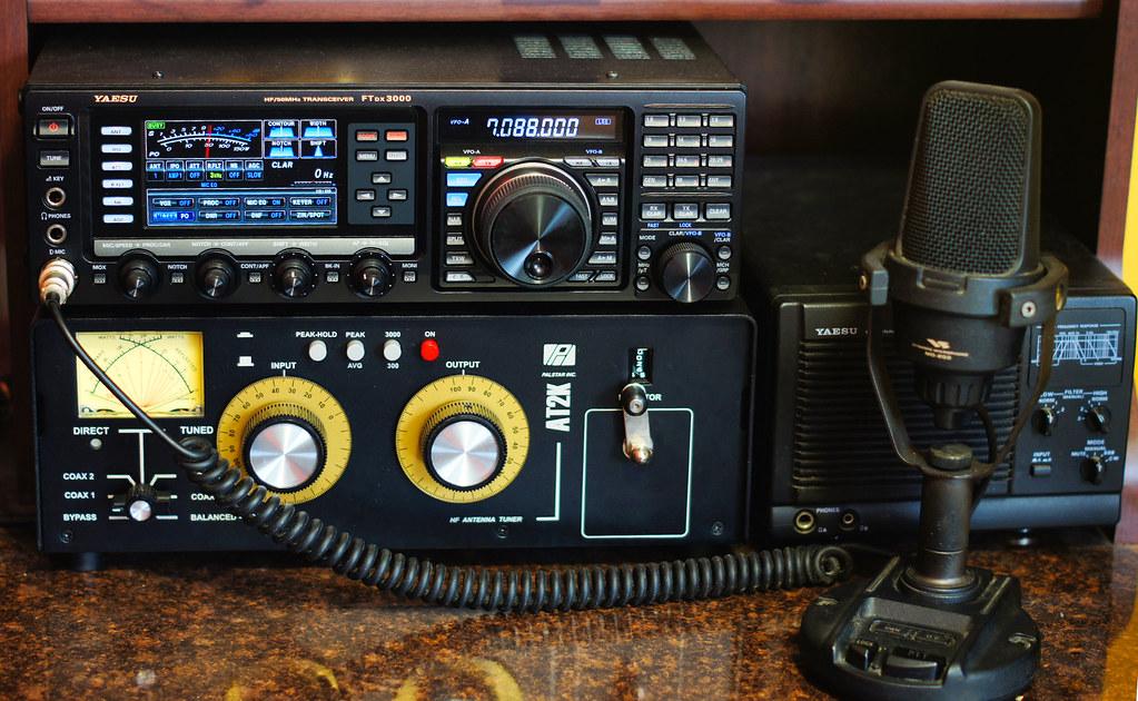 Yaesu FTdx3000   Yaesu FTdx3000 Antenna Tuner Palstar Inc ...