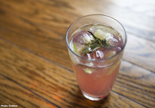 rosemary drink | by Eva Blue