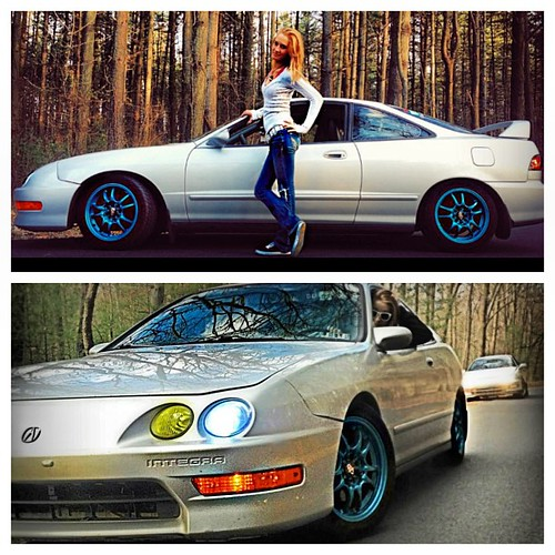 Shout out to kerynnboyer and her awesome integra that sh flickr