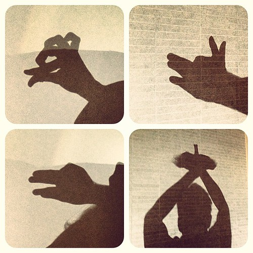 Animal shadow puppets | by Downtown Traveler