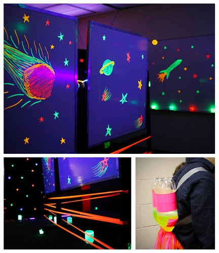 Space theme room and game outer space theme room and for Outer space room design