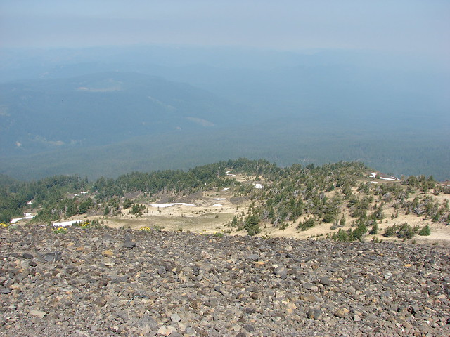 View from the summit of Mt. Bailey