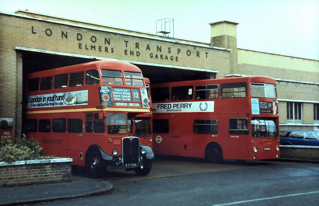 86 308 the last day of services from elmers end garage pr for Garage new s villejuif