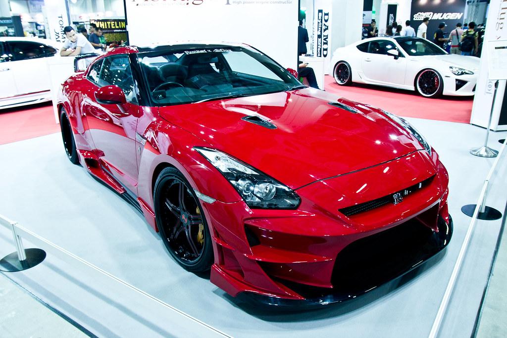 ... Tokyo Auto Salon Singapore   Nissan GTR By Abflug Japan | By Allenyew