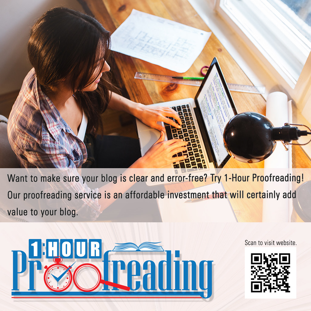 Proofreading for Bloggers